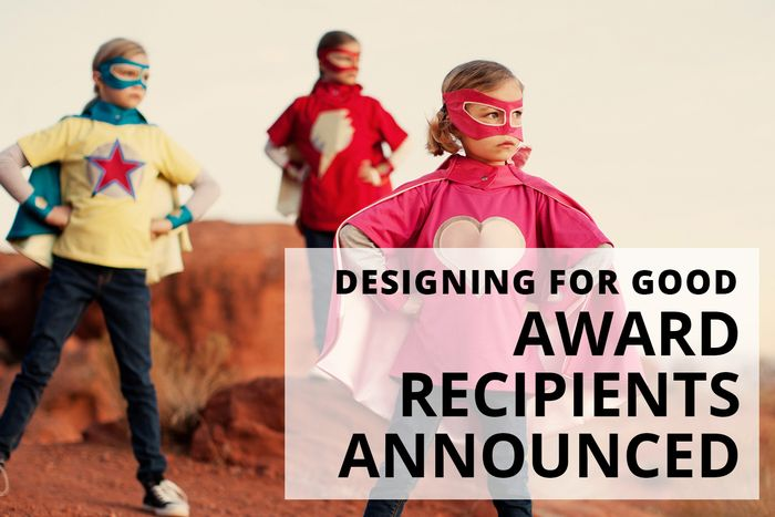 Featured image for Announcing our 2019 Designing for Good grant recipients!